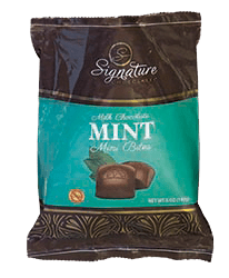 Milk Chocolate Mint Mini Bites