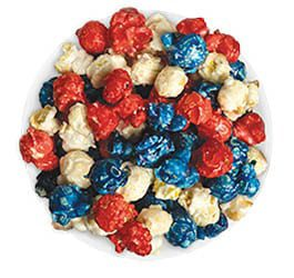 patriotic fundraising popcorn