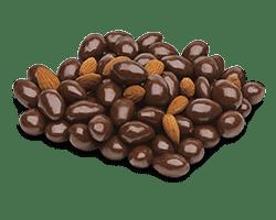 chocolate almods